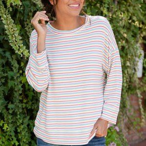 Fresh Produce Shoreline Callie Sweatshirt Med/Lg